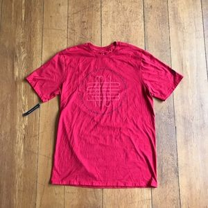 Jordan Sportswear Mens Short Sleeve Shirt Red Sz L